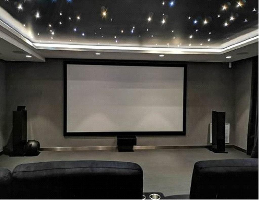Diseñar una sala de cine en casa